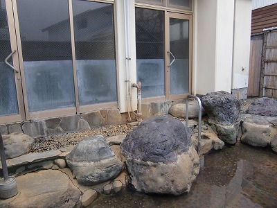肘折温泉 松井旅館  山形 混浴露天風呂 画像