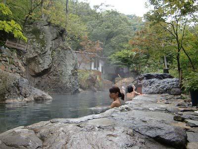松川渓谷温泉「滝の湯」