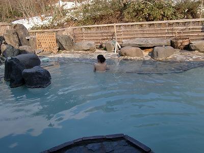 松川温泉 松川荘 温泉 混浴 露天風呂 日帰り入浴 画像