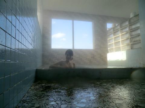 雷電温泉 みうらや旅館 北海道 日帰り入浴 混浴 露天風呂 画像