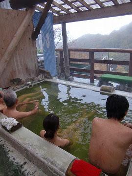 国見温泉 森山荘 温泉 岩手 混浴露天風呂 日帰り入浴 画像