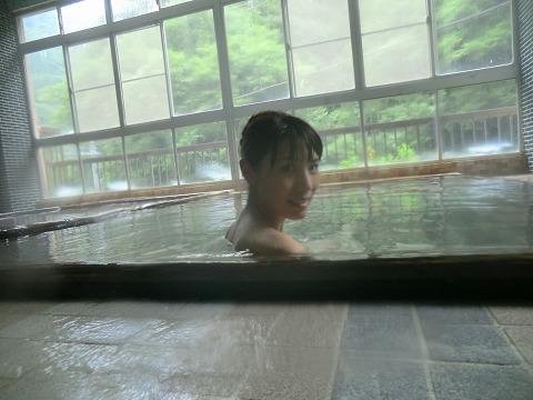 西山温泉 元湯蓬莱館 混浴 日帰り入浴 山梨 画像
