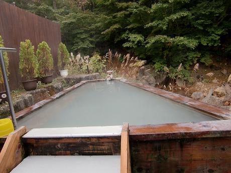 滑川温泉 福島屋旅館 山形 混浴 露天風呂 絶景 山形十湯