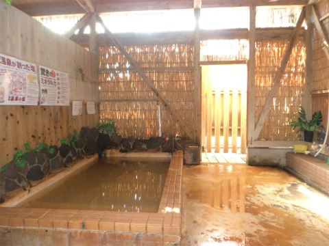 長寿温泉 ペンション 菜の花館 鹿児島 混浴 露天風呂 日帰り入浴 温泉 画像