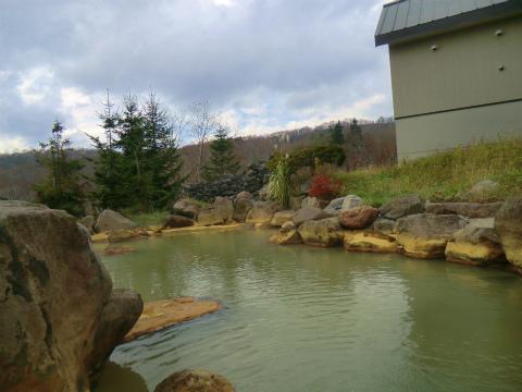ニセコ昆布温泉 ニセコグランドホテル 北海道 日帰り入浴 混浴 露天風呂 画像
