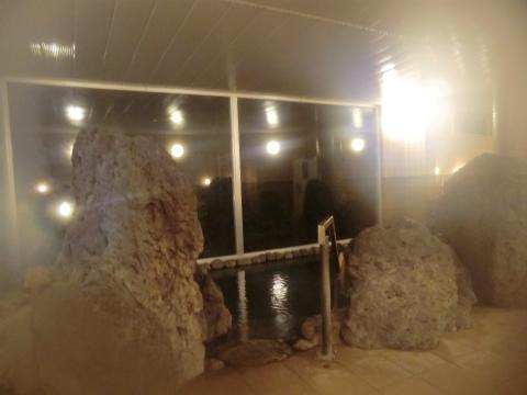 糠平温泉 糠平館観光ホテル 北海道 日帰り入浴 女性用露天風呂 画像