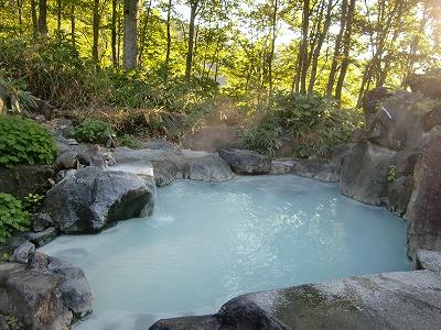 燕温泉「黄金の湯」