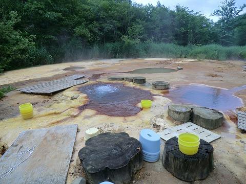 青森 八九郎温泉「奥奥八九郎温泉」 混浴 露天風呂 温泉 画像