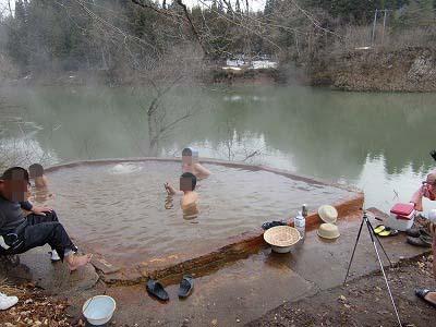 大塩温泉「露天風呂」
