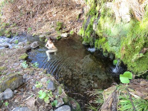 旭岳温泉 ピラの湯 北海道 混浴 露天風呂 無料 画像