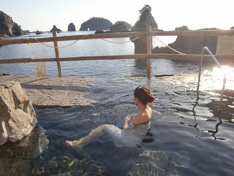 那智勝浦温泉 らくだの湯 和歌山 日帰り温泉 野天 画像