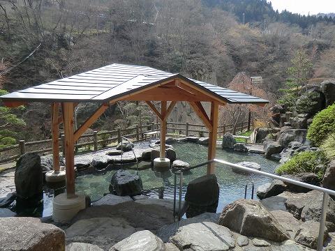 湯野上温泉「旅館新湯」