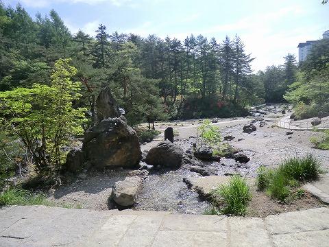 草津温泉 西の河原露天風呂 日帰り入浴 露天風呂 群馬 画像