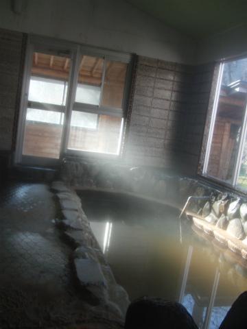 桜野温泉 熊嶺荘 北海道 日帰り入浴 男性用内湯 画像