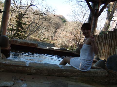 桜野温泉 熊嶺荘 北海道 日帰り入浴 混浴 露天風呂 画像