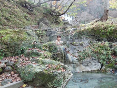 岩尾別温泉 三段の湯 北海道 野天湯 混浴 野天風呂 画像