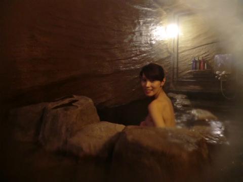 糠平温泉 山湖荘 北海道 日帰り入浴 洞窟風呂 画像