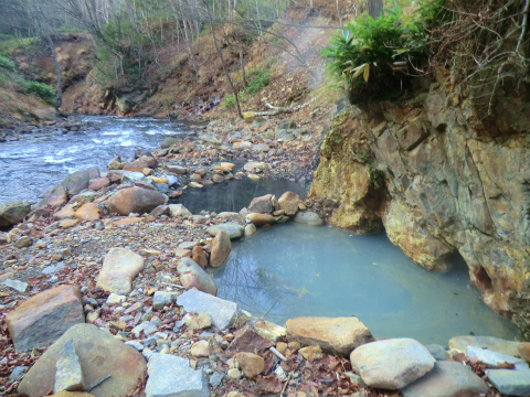然別峡温泉「メノコの湯」