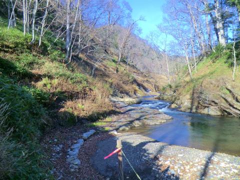 然別峡温泉 夫婦の湯 北海道 混浴 露天風呂 無料 画像