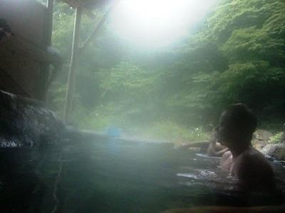 尻焼温泉 河原野天風呂 無料 野天 日帰り温泉 群馬 画像