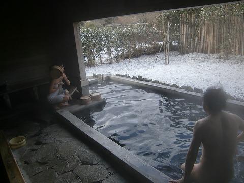 由布院温泉 下ん湯 大分 共同浴場 混浴  日帰り入浴 温泉 画像