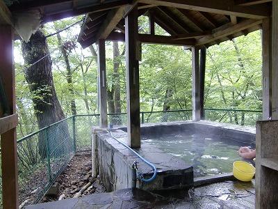 川原湯温泉 聖天様露呂風呂 混浴露天風呂 群馬 日帰り温泉 画像