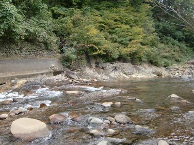 下湯ダム温泉 タヌキの湯 露天風呂 青森 無料 混浴 日帰り温泉 画像
