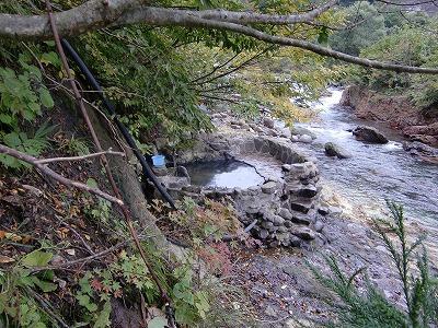 下湯ダム温泉「タヌキの湯」
