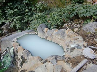 燕温泉「滝見露天風呂」