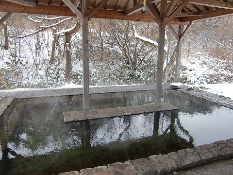 津黒高原温泉 公園の湯 岡山 無料 混浴 公園の湯 日帰り温泉 画像