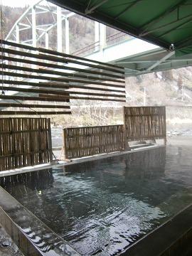 天ヶ瀬温泉 鶴舞の湯 共同露天風呂 大分 混浴 日帰り入浴 温泉 画像