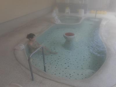 鹿教湯温泉 つるや旅館 長野 混浴 露天風呂