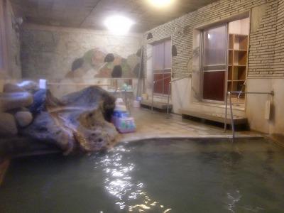 肘折温泉 つたや肘折ホテル  山形 混浴露天風呂 画像