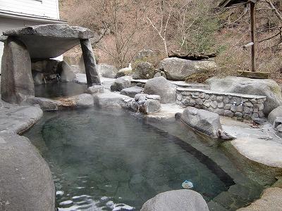 裂石温泉「雲峰荘」