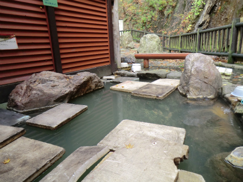 臼別温泉 湯とぴあ臼別 北海道 日帰り入浴 混浴 露天風呂 画像