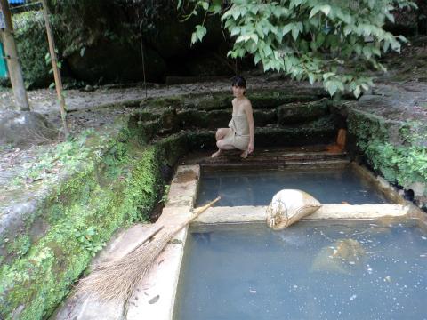 妙見温泉 和気湯 鹿児島 混浴 露天風呂 日帰り入浴 温泉 画像