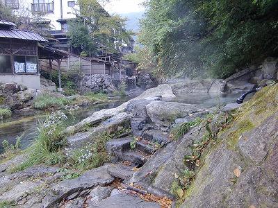 湯西川温泉「薬研の湯」