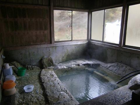 湯西川温泉共同浴場「薬師の湯」