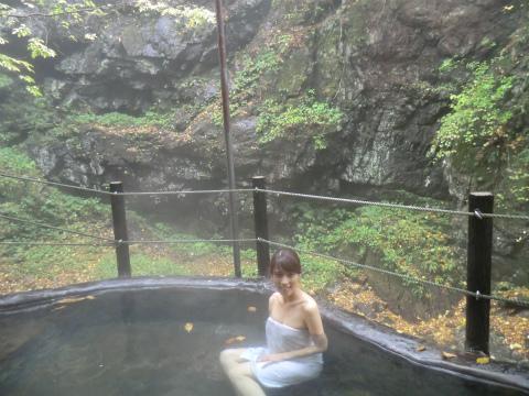 山田温泉 山荘旅館 風景館 混浴 長野 日帰り温泉 画像