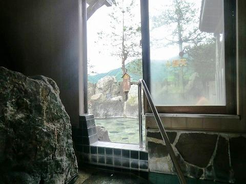五十沢温泉「ゆもとかん」 混浴露天風呂 新潟 日帰り温泉 画像