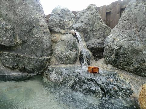 五十沢温泉「ゆもとかん」女性用露天風呂 新潟 日帰り温泉 画像