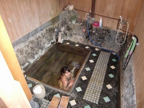湯ヶ野温泉「湯本楼」静岡 日帰り 混浴 画像