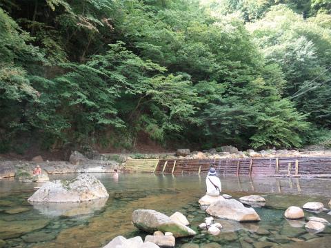 尻焼温泉「河原野天風呂」