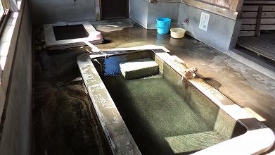 湯ノ花温泉 天神湯 共同浴場 混浴 福島 画像
