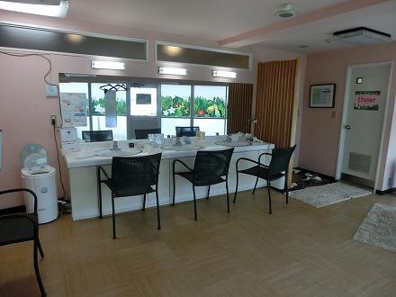熱川温泉「ホテルカターラリゾート&スパ」のジャングルスパの脱衣所