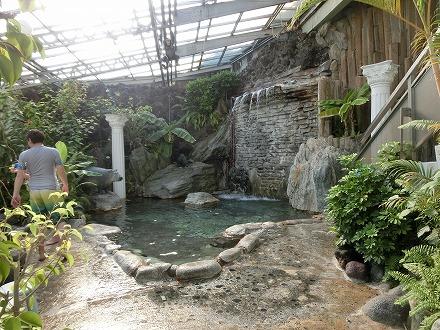 熱川温泉「ホテルカターラリゾート&スパ」のジャングルスパ