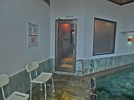 熱川温泉「ホテルカターラリゾート&スパ」の男女別内湯にはサウナもあります