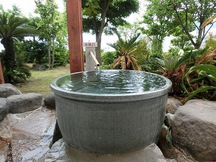 熱川温泉「ホテルカターラリゾート&スパ」の男女別露天風呂にある水風呂