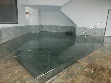 熱川温泉「ホテルカターラリゾート&スパ」の男女別内湯の湯船