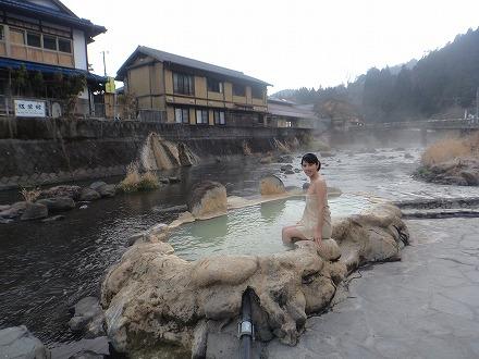 長湯温泉 ガニ湯に女性が入るのはものすごく勇気が必要